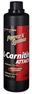 Power System L-Carnitine Attack 6000 мг (500 мл)